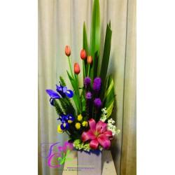 Arreglo con Tulipanes