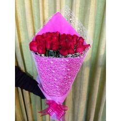 Ramo de rosas lindo detalle