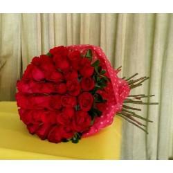 Ramo de rosas  en bouquet