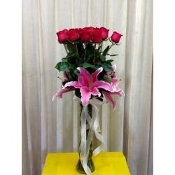 Yarda de rosas
